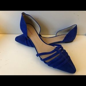 Everyone needs a pair of blue suede shoes!